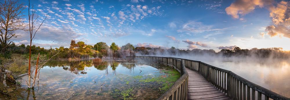 羅托魯瓦 Rotorua 必遊景點 #5 - Kuirau Park (庫伊勞地熱公園)