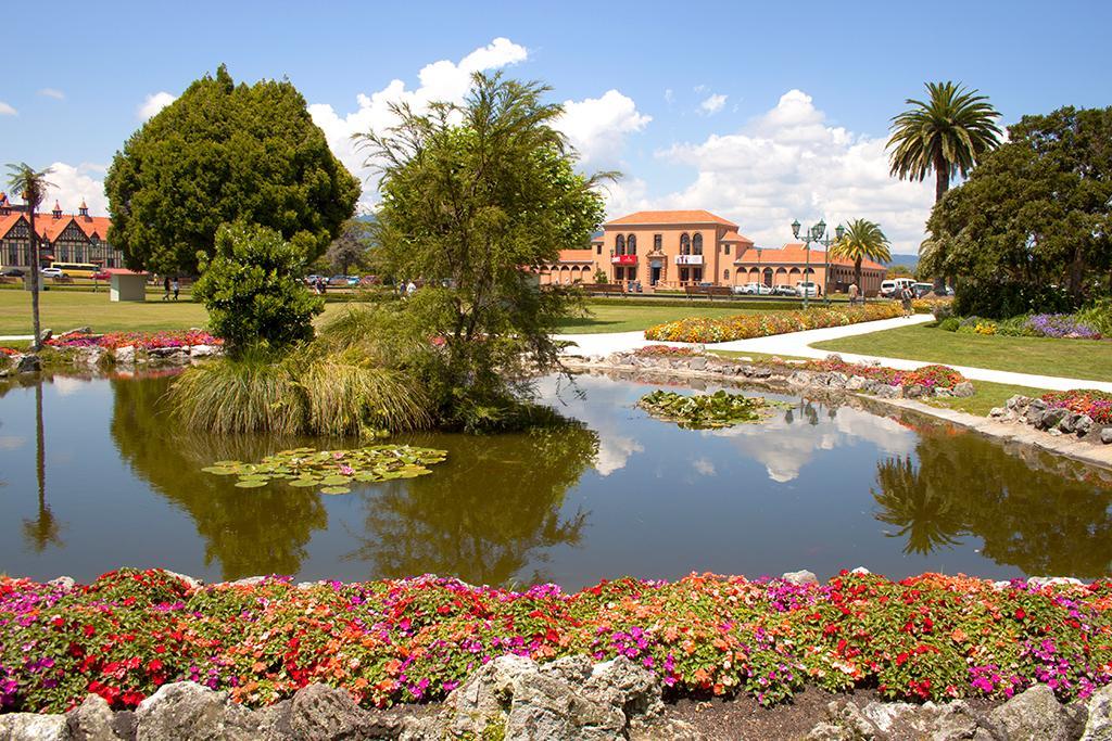 羅托魯瓦 Rotorua 必遊景點 #3 - Government Gardens &  Rotorua Museum (政府花園 & 博物館)