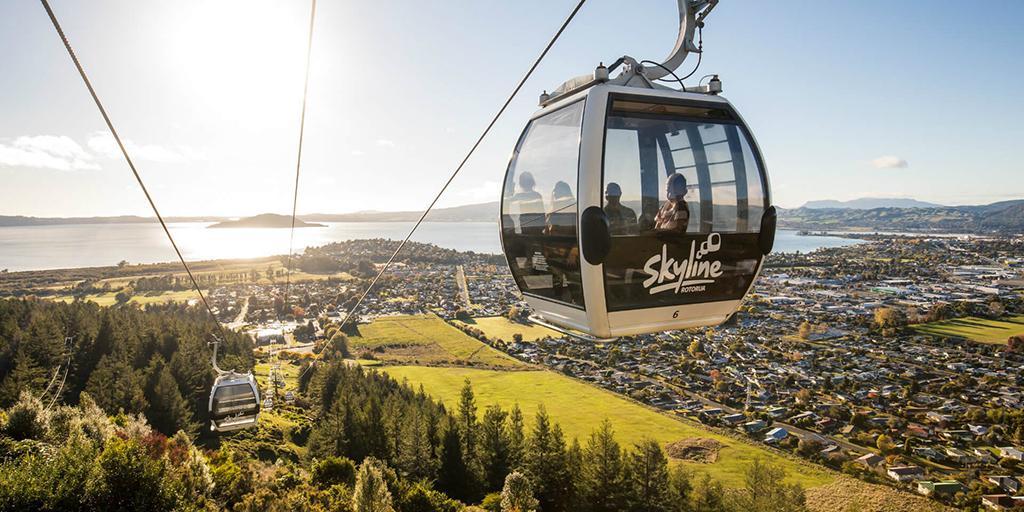 羅托魯瓦 Rotorua 必遊景點 #8 - Skyline Rotorua (天際纜車)