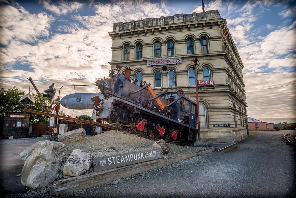 Oamaru 必遊景點 #4 - Steampunk HQ (蒸汽朋克總部)