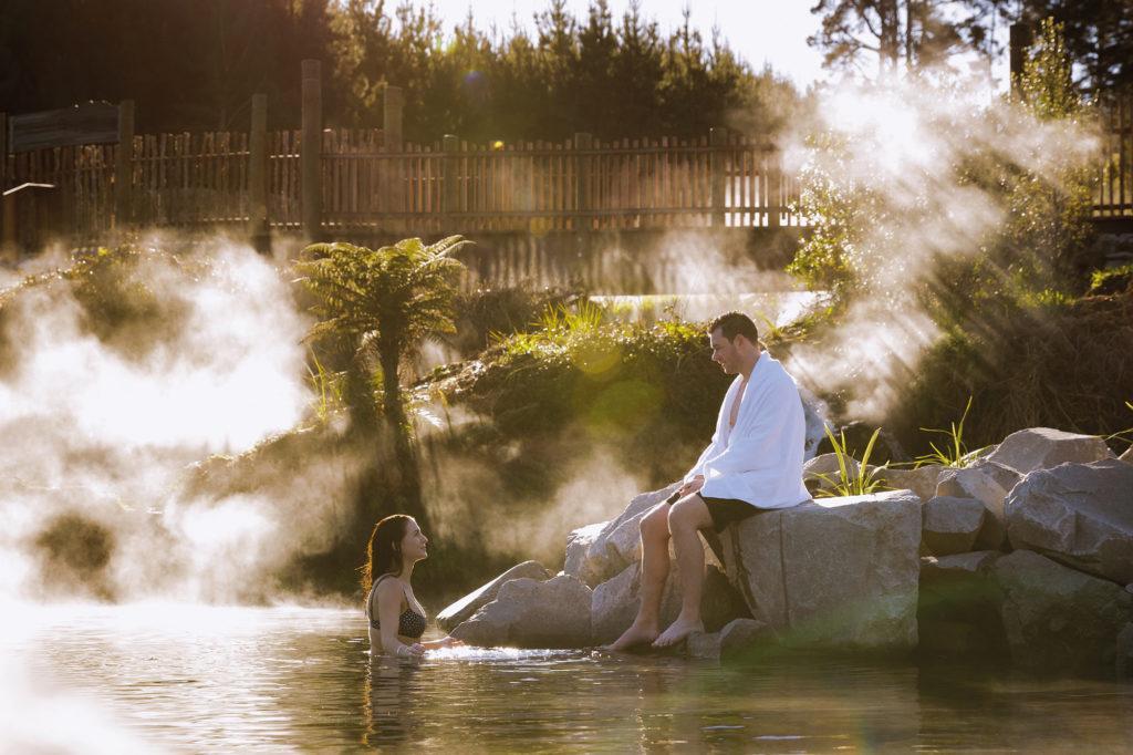 Huka Falls (胡卡瀑布) 景點#2 - Spa Park Hot Pools (地熱溫泉池)