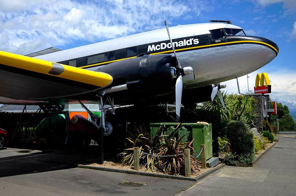 Taupo 景點 #3 - Taupo McDonald's (陶波麥當勞)