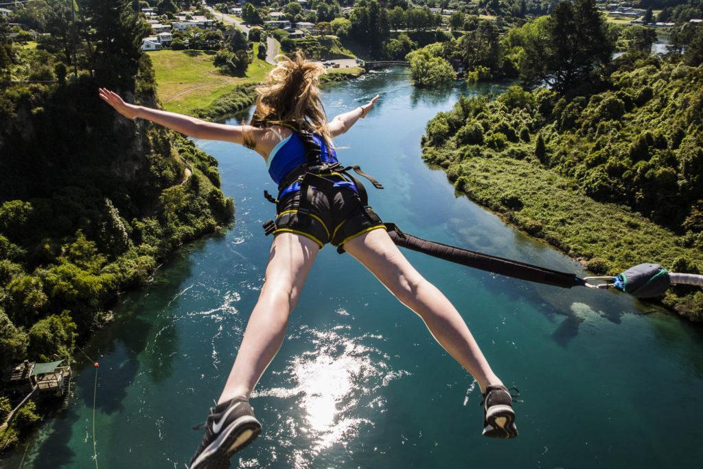 Taupo 景點 #7 - Taupo Bungy Jump (高空彈跳)