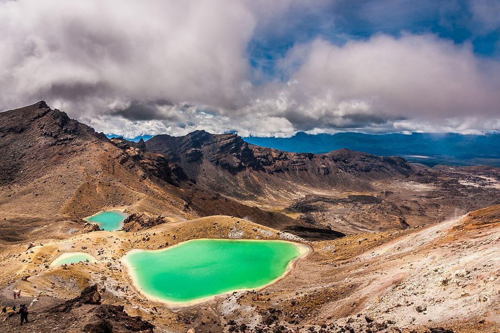 Tongariro National Park (湯加里羅國家公園) 5大必遊景點#1 - Tongariro Alpine Crossing (湯加里羅高山穿越步道)