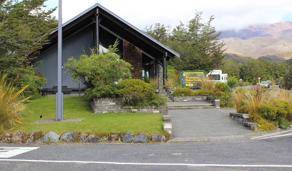 Whakapapa Village (瓦卡帕帕村) 景點#1 - Whakapapa Visitor Centre (遊客中心)