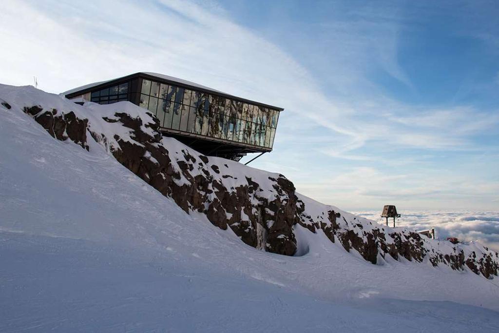 紐西蘭最高海拔的咖啡廳 - Knoll Ridge Cafe