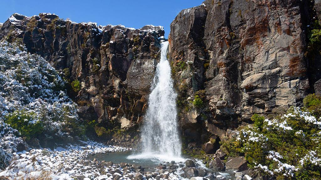 Tongariro National Park (湯加里羅國家公園) 5大必遊景點#4 - Taranaki Falls Loop (塔拉納基瀑布環形步道)