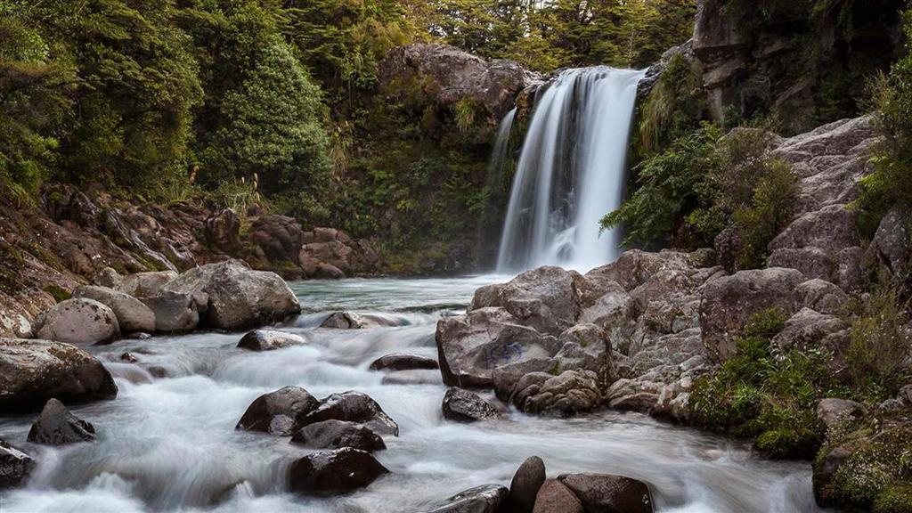 Tongariro National Park (湯加里羅國家公園) 5大必遊景點#5 - Tawhai Falls (鬥海瀑布)