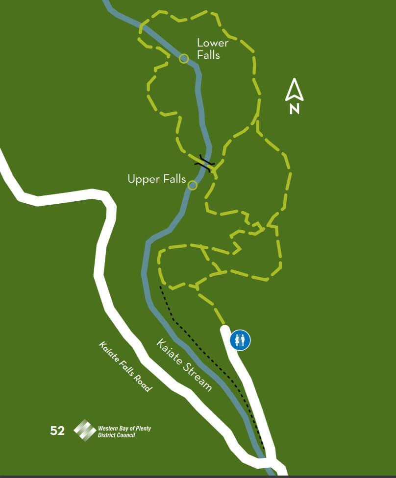 Trail of Kaiate Falls (凱阿特瀑布步道地圖)