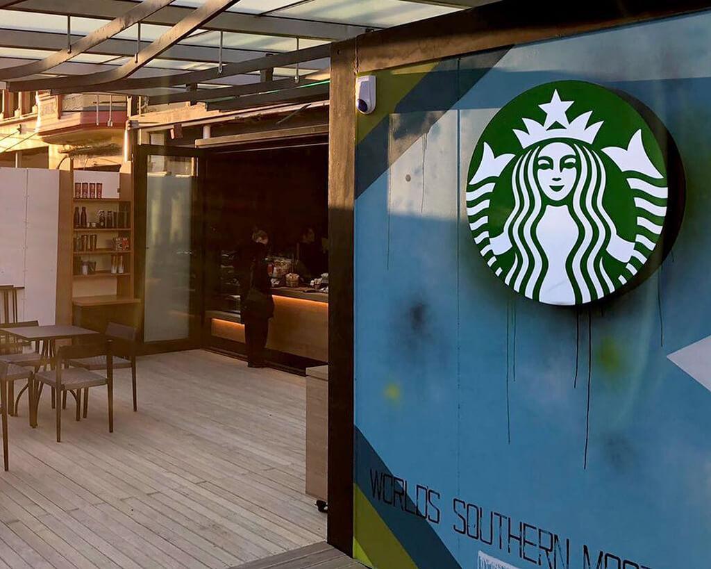 Invercargill 必遊景點 #2 - Starbucks (星巴克)