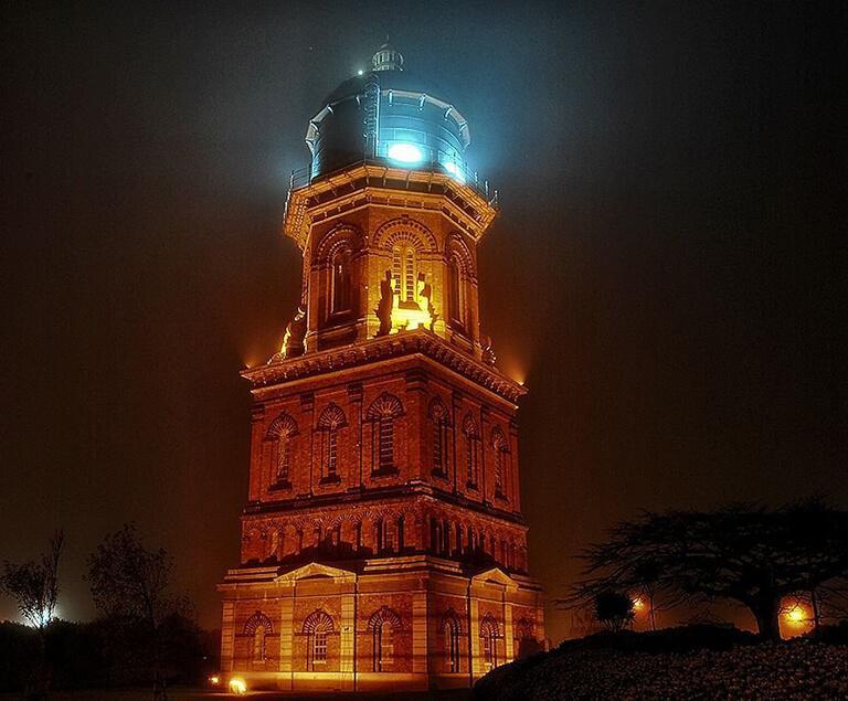 Invercargill Water Tower 夜景