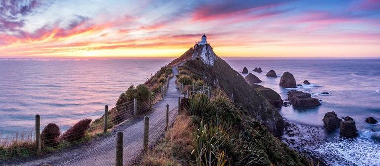 Invercargill 外圍必遊景點 #7 - Nugget Point Lighthouse (金塊角燈塔)
