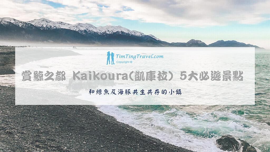 [2020] Kaikōura 凱庫拉 | 賞鯨之都 5大 必遊景點