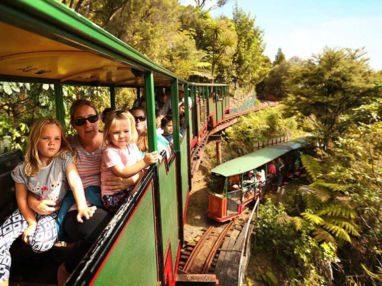 Coromandel 必遊景點 #4 - Driving Creek Railway (溪谷鐵路)