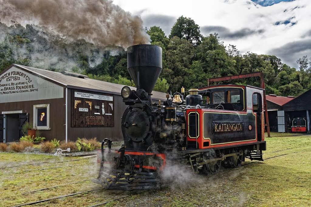 19 世紀時期的蒸汽火車