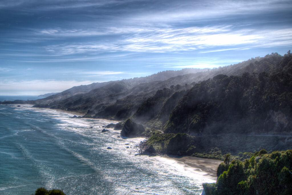 Greymouth 必遊景點 #2.2 - Punakaiki Beach (普納凱基沙灘)