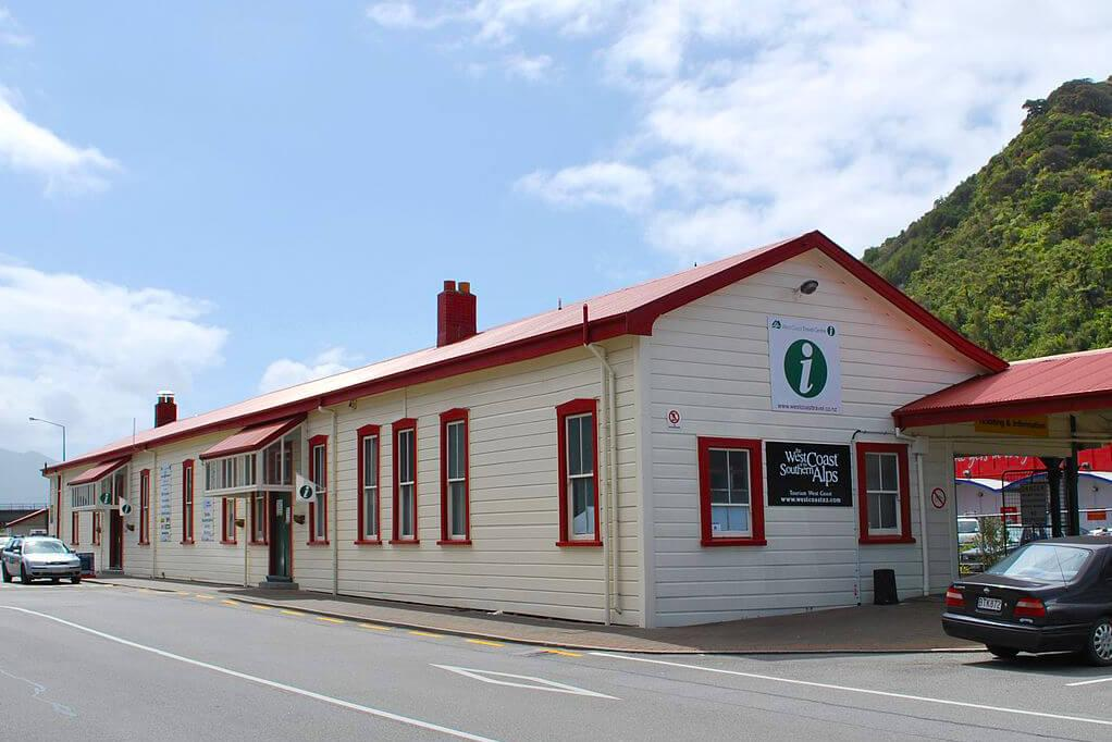 Greymouth 必遊景點 #4 - Greymouth i-SITE Visitor Information Centre & Station (遊客中心 & 車站)