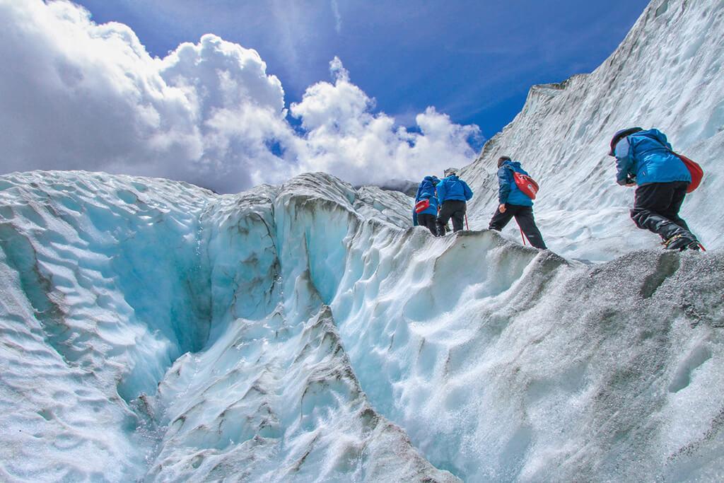 Franz Josef 必遊景點 #1 - Franz Josef Heli-Hiking (直升機冰河健行)
