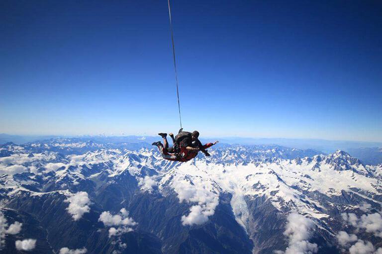 Franz Josef 必遊景點 #3 - Skydive Franz (跳傘)