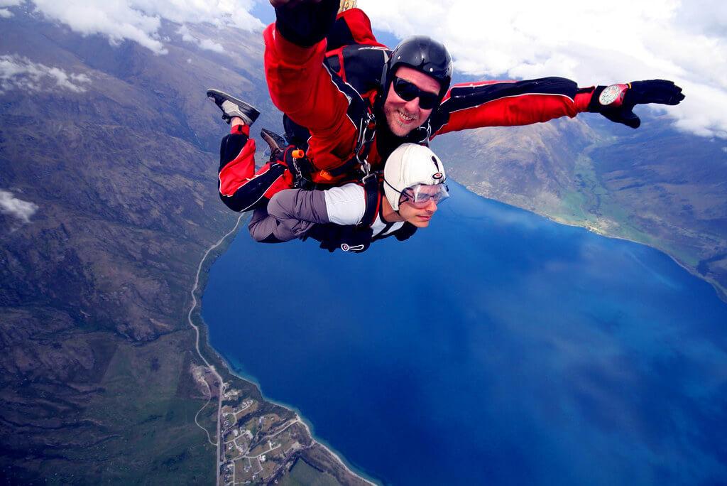 紐西蘭跳傘簡介