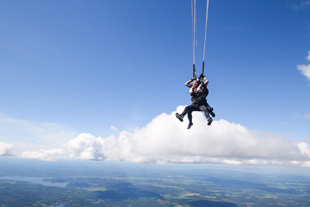 紐西蘭跳傘 - 大致流程
