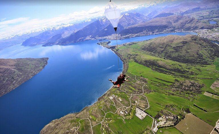Queenstown - NZONE Skydive: 歷史最悠久跳傘場